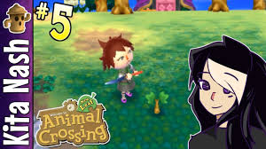 animal crossing new leaf gameplay part 5 cherry trees for