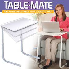 Portable Laptop Desk On Wheels by Table Mate Couch Table Tray Table As Seen On Tv Store