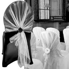 black and white chair covers aliexpress buy hight quality white chair cover wrap tie