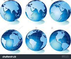 Map Of Globe Map World Globe Stock Vector 24917665 Shutterstock