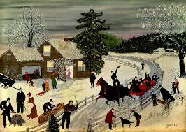 will moses christmas cards history of naive moses