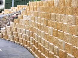 the norfolk retaining wall block system