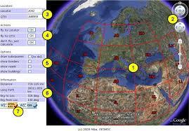 Maidenhead Locator Google Maps by Locator Viewer By Oe3mdc