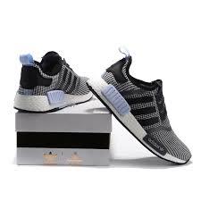 adidas nmd light blue adidas originals nmd junior black light blue shoes sale uk