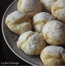 menu cuisine marocaine recette macarons marocains noix de coco et semoule 750g
