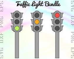 Traffic Light Clipart Street Light Vector Etsy