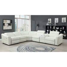 Power Leather Recliner Sofa 49 Leather Sectional Sofa With Power Recliner Leather Sectional