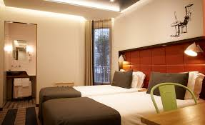 Twin Bed Hotel by Rooms Best Western Aulivia Opera 4 Paris