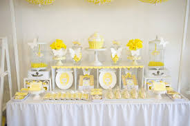 High Tea Party Decorating Ideas Yellow And White High Tea Party Desserts Paper Crush