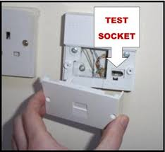 broadband will only work in a main socket and not an extension socket