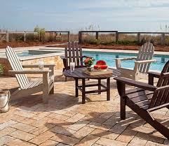 Composite Patio Table Polywood Outdoor Furniture Rethink Outdoor