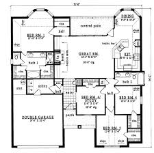 plan42 european style house plan 4 beds 2 00 baths 1920 sq ft plan 42 212