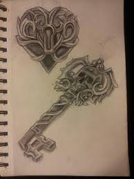 best 25 key tattoos ideas on pinterest key tattoo designs