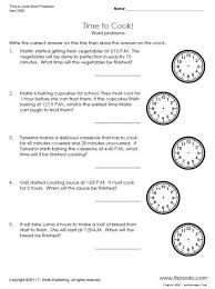 math worksheets telling time word problems time worksheets free
