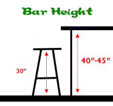 table height bar stools bar stool buyers guide height bar counter dining modern