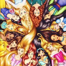 evolution disney princesses