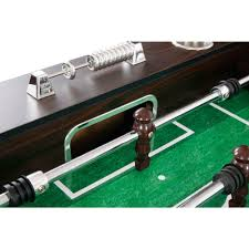 hathaway primo foosball table primo 56 in brown soccer table pool warehouse