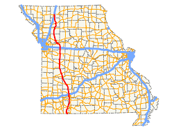 Map Of Kansas City Mo Missouri Route 13 Wikipedia