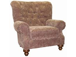 Tufted Upholstered Chairs Mayo 9310 Traditional Upholstered Chair With Tufted Back
