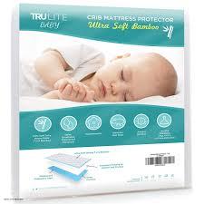 Vinyl Crib Mattress Baby Crib Mattress Protector Pad The Softest Bamboo