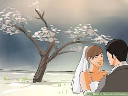 planning a small wedding 4 ways to plan a small wedding wikihow