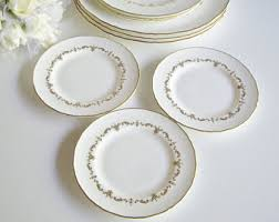bone china plates etsy