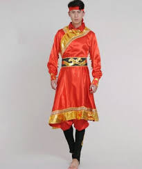 costume new year mongolia costume for men festival costumes new year