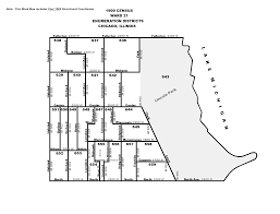 Chicago District Map by 1900 Chicago City Ward Map