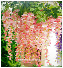 Wholesale Silk Flowers 110 Cm Length Hanging Silk Flowers Wholesale Wisteria Flower Wall
