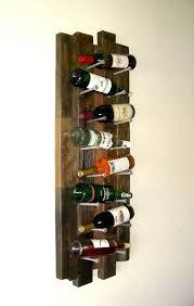wine rack wood pallet wine rack diy rustic wine rack from