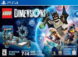 lego dimensions starter pack for sony ps4 toys