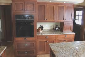 kitchen simple kitchen design with oak cabinets home design