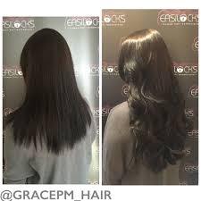 easilock hair extensions 120 strands of easilocks hair extensions in darkest brown