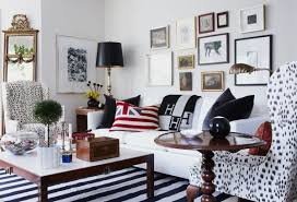 Black And White Stripped Rug Decorating With A Striped Rug The Basics