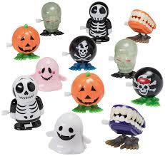 amazon com halloween goody bag wind up toys 12 pack halloween
