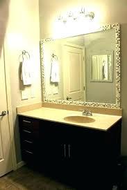 framed bathroom mirror ideas unique bathroom mirror ideas half bath mirror ideas innovative black