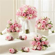 bridesmaid bouquets 1 800 flowers pink personal package 1 pink bridal bouquet 3