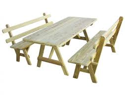 How To Build A Round Wooden Picnic Table by Best 25 Wooden Picnic Tables Ideas On Pinterest Kids Wooden