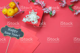 new year backdrop top view of arrangement decoration new year lunar