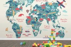 travel wallpaper travel themed baby bedroom