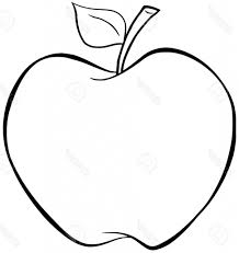 apple outline drawing printable 36 apple coloring pages 676 fruit