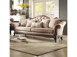 king hickory leather sofa homelegance bonaventure sofa with tufted back darvin furniture