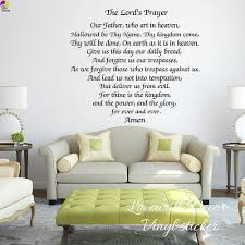 compare prices on scripture wall stickers online shopping buy low the lords prayer wall sticker bedroom living room bible scripture inspiration motivation amen quote decal kitchen