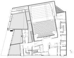 Plan Ground Floor Gallery Of Music Conservatory In Paris U0027 17th Arrondissement