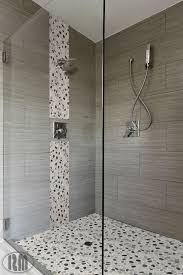 tiling shower wall large polished brown wall tile arched