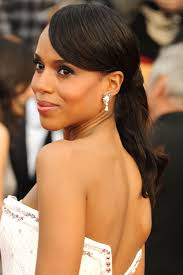 kerry washington hair pin up 20 new ways to wear a ponytail best celebrity ponytails of 2017