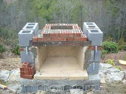 How To Build A Stone by How To Build A Stone Fireplace And Chimney How To Build An Outdoor