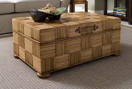 ottoman coffe table wicker storage trunk coffee table wicker