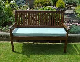 garden bench cushions bench decoration