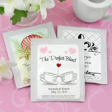 tea bag wedding favors creative wedding favor ideas a chair affair inc